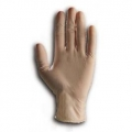 HYTEC CLEAR LATEX GLOVES LOW POWDER MEDIUM